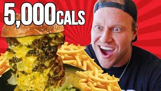 4.5lb Massive Burger Challenge (fastest time)