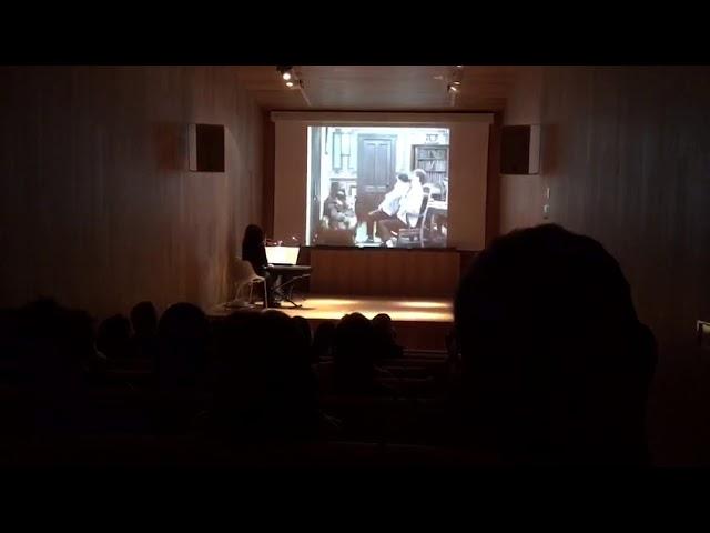 Sesión de cine mudo en Lugo