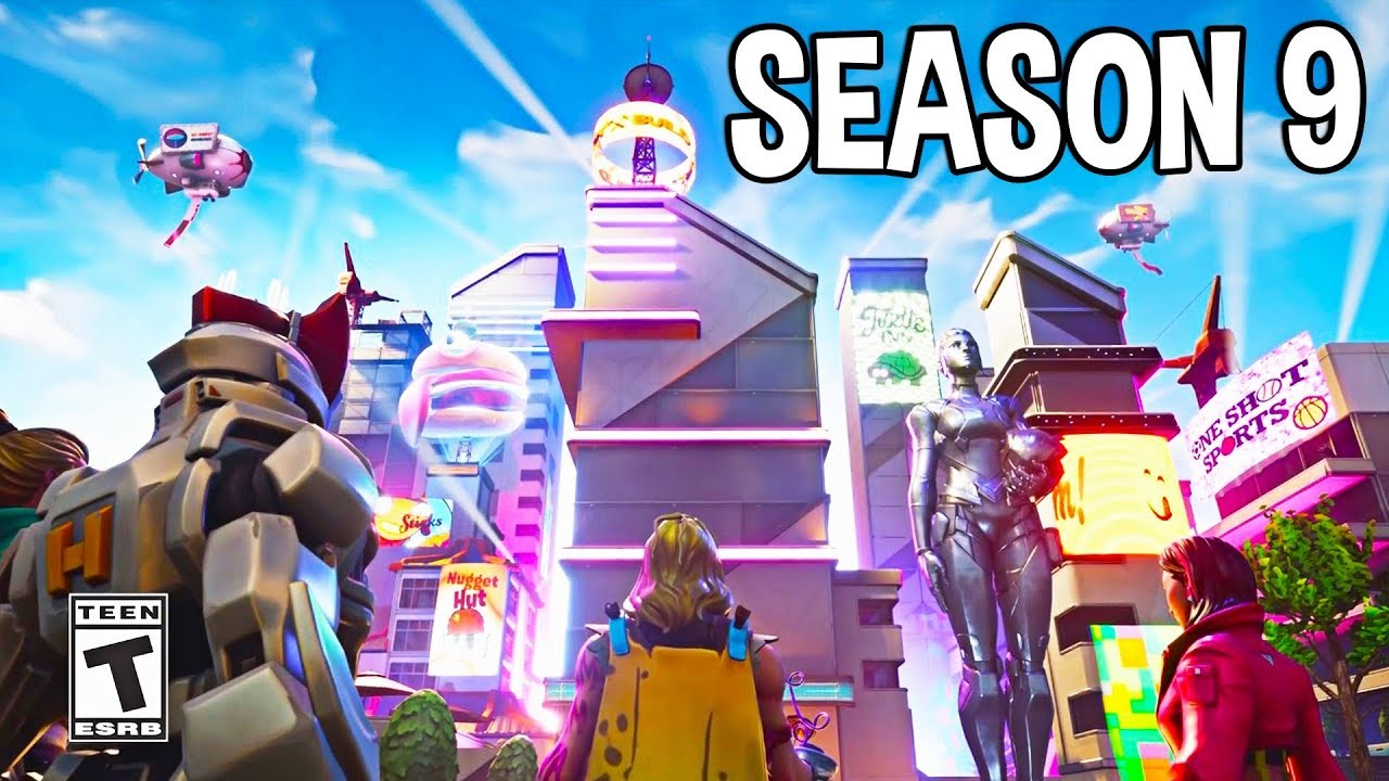 Fortnite Season 9 Cinematic Battle Pass Trailer Youtube