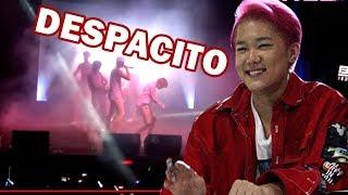 figcaption Kpop Idol B.I.G dançando DESPACITO no México
