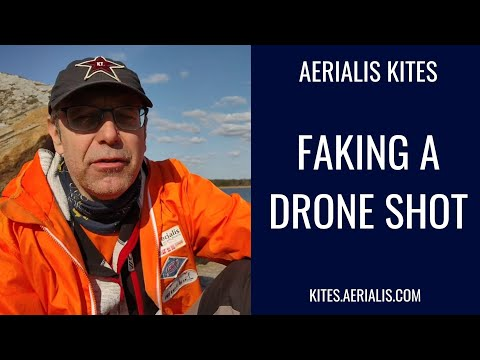 Faking a Drone Shot!