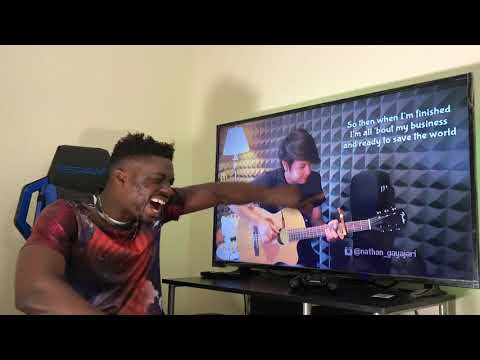 Nathan Fingerstyle - On My Way - Alan Walker Guitar Cover REACTION