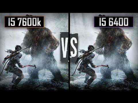 Rise of Tomb Raider: I5 7600k vs I5 6400 Comparison - GTX 1060 6Gb (1080p60FPS)