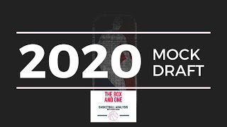 2020 Mock Draft Version 1 - Lottery Picks (1-14)
