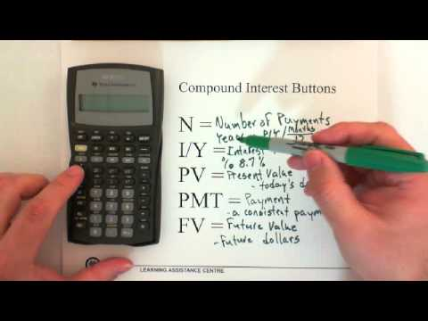 10. Compound Interest: Present Value/Future Value   Doovi