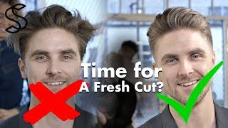 Time for a fresh haircut ? - Best hairstyles for men 2018 by Slikhaar TV