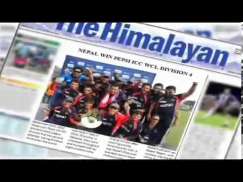Nepali Cricket Team Song By EDGE Band
