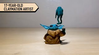 17-Year-Old Claymation Artist Can Do Anything With Clay | Localish