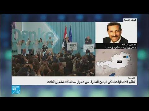 نتائج انتخابات النمسا تفتح المجال أمام اليمين المتطرف  - 15:22-2017 / 10 / 17