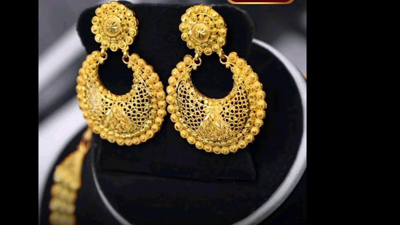 Gold Earring Design Ideas All New Collection