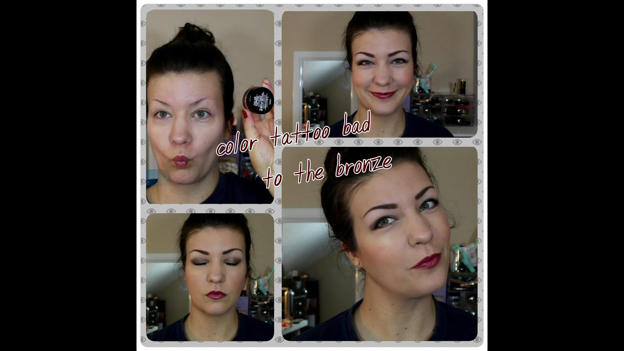 Tutorial using maybelline color tattoo bad to the bronzeeveryday tutorial using maybelline color tattoo bad to the bronzeeveryday look baditri Image collections