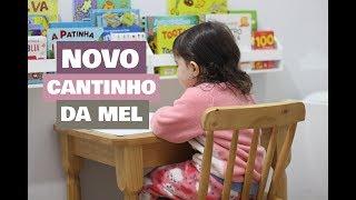 NOVO CANTINHO NO QUARTINHO DA MELISSA - MESA E CADEIRA INFANTIL