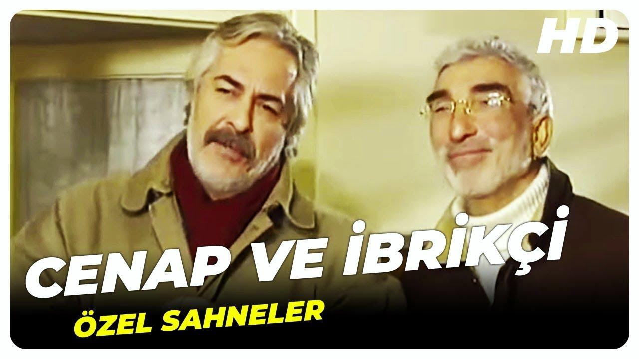 Bizimkiler | Rutkay Aziz (Şair Cenap) ve Cezmi Baskın (İbrikçi) Komik Sahneler
