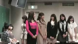 ミス・ミスター青山発表直前です! 候補者が全員集合して最終確認。 い...