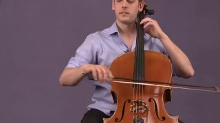 Bluegrass Cello: Bowing - The Shuffle \u0026 The Push