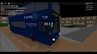 ROBLOX: Sunbury Bus Simulator route 3A a Heddington