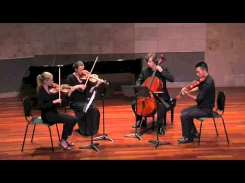 Suite for String Quartet, I. Overture - Matthew Plaza
