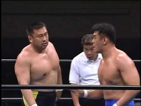 AJPW - Toshiaki Kawada & Akira Taue vs Mitsuharu Misawa & Jun Akiyama