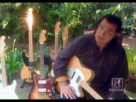 Steven Seagal's incredible guitar collection - SRV, B.B. King, Albert Collins