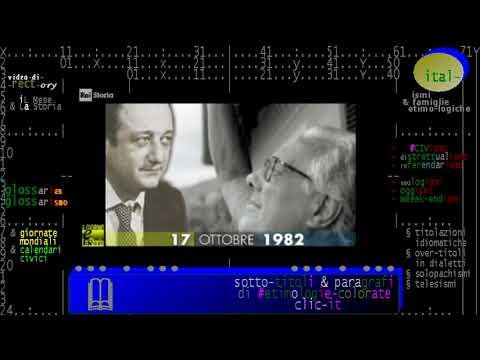 §.1/ (anniversari-morte 1982) ** 17 ottobre ** Milano: Beppe Viola: famoso giornalista sportivo