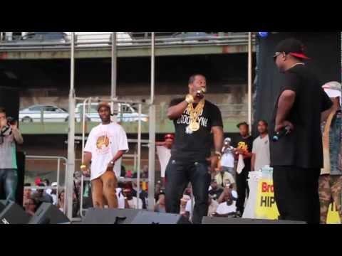 Busta Rhymes & Leaders of the New School at 2012 Brooklyn Hip-Hop Festival