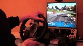 Mazda RX-8 - Nordschleife - Need For Speed: Shift 2 test with G25 (PC Game)