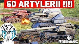 60 ARTYLERII W BITWIE - World of Tanks