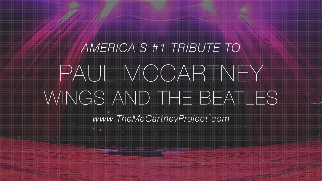 The McCartney Project - Indoor Promo
