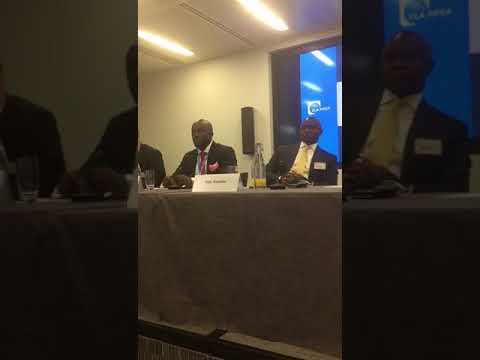Dayo Idowu OOLLP Partner at Oil and Gas Panel in London at Africa Week  change in structure