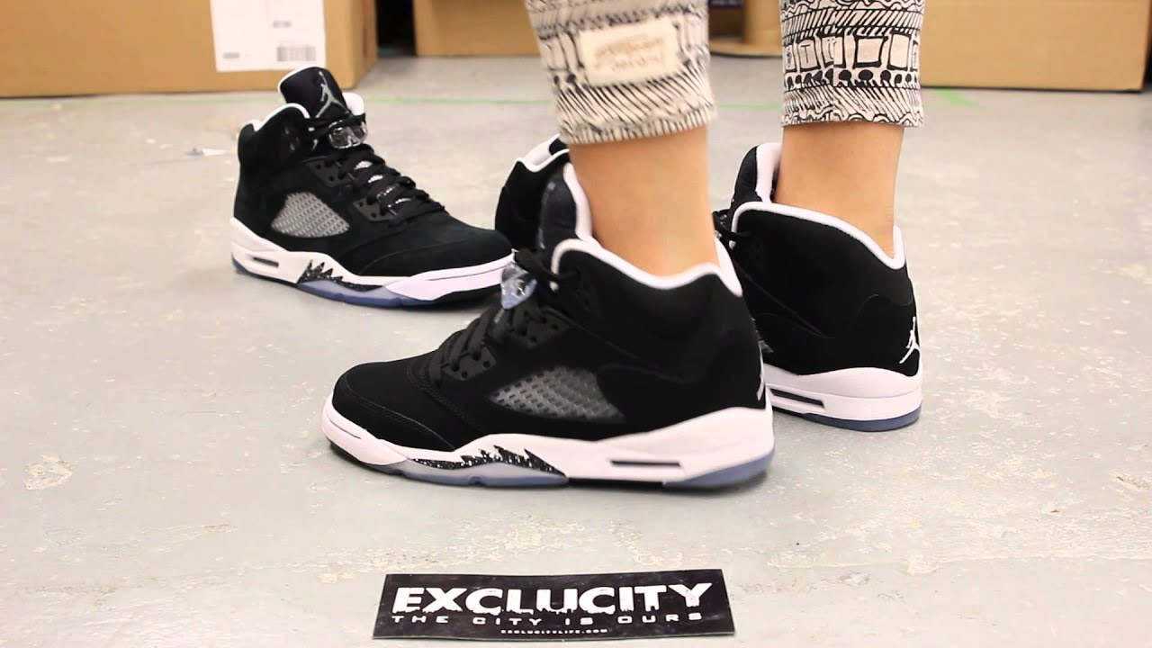 "... 4 Retro ""Oreo"" GS Womans Air Jordan V . ... d6d0de241"
