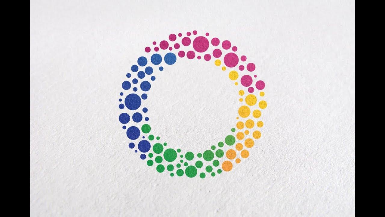 Tutorial How to Make a Professional Circle Logo Design ...