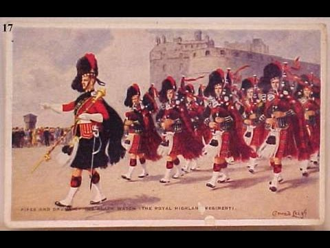 The Pipes And Drums Of The Black Watch - The Garb Of Old Gaul