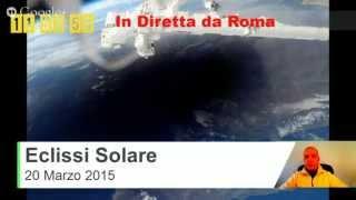 Eclissi Solare Totale 20 Marzo 2015 Diretta Live S