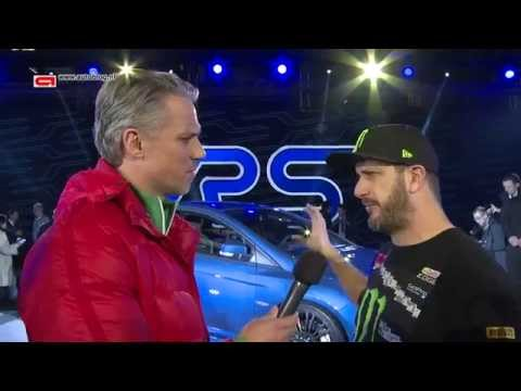 Interview with Ken Block & new Ford Focus RS