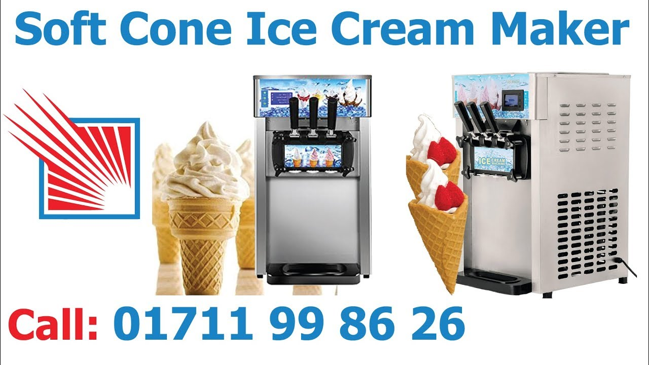 Soft Cone Ice Cream Maker Machine In Bangladesh