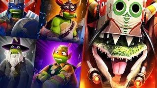 All series of Ninja Turtles VS Dragon! Teenage Mutant Ninja Turtles Legends no comment. gameplay 356
