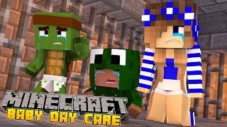 minecraft baby day care the babys go to prison