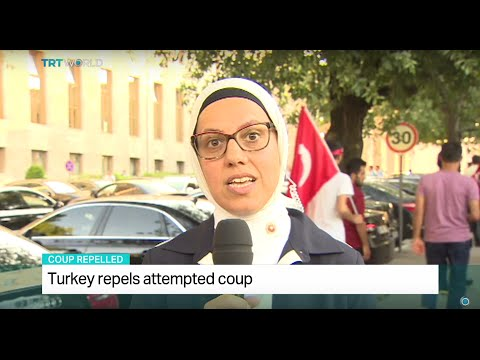 Interview with Ravza Kavakci on coup attempt in Turkey