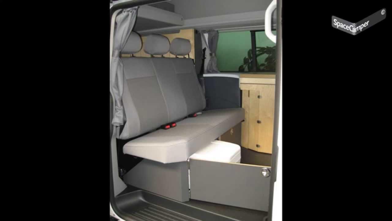 spacecamper klapp und chemietoilette youtube. Black Bedroom Furniture Sets. Home Design Ideas