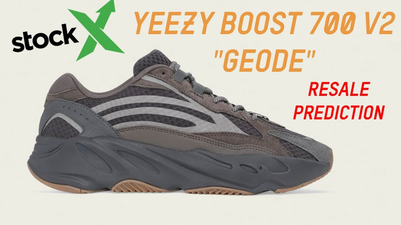 da92e14221056 Adidas Yeezy Boost 700 V2 Geode Resale Prediction - YouTube adidas yeezy  boost 700 v2 geode