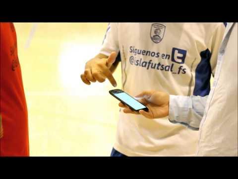 Presentación app para el móvil Isleño San Fernando FS - Academia Red Blue CI San Fernando