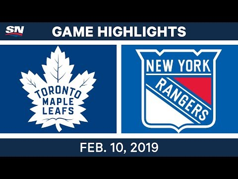 NHL Highlights | Maple Leafs vs. Rangers - Feb 10, 2019 Mp3