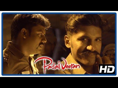 Padaiveeran Movie Highlight Scene | Bharathiraja advises Vijay Yesudas | Villagers attack police