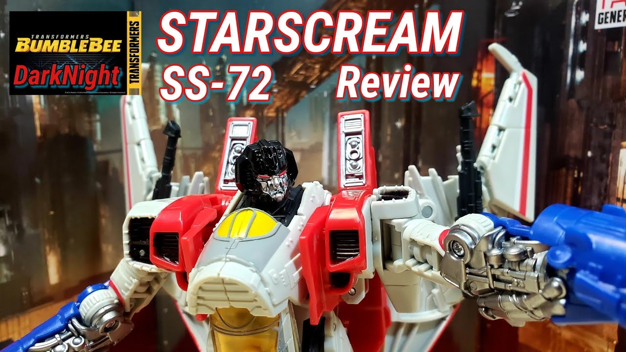 Starscream SS72 Review Is Not A Blitzwing Repaint by DarkNight Reviews