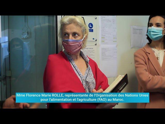 Fondation MAScIR - Visite de la représentante du FAO au Maroc