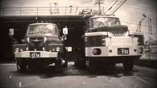 ボンネットトレーラー 三菱ふそう NW413 NW250