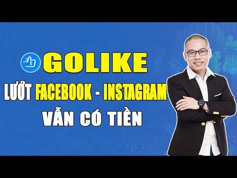 Rút tiền Golike - Cách lướt facebook và dùng Instagram để kiếm tiền đơn giản nhất