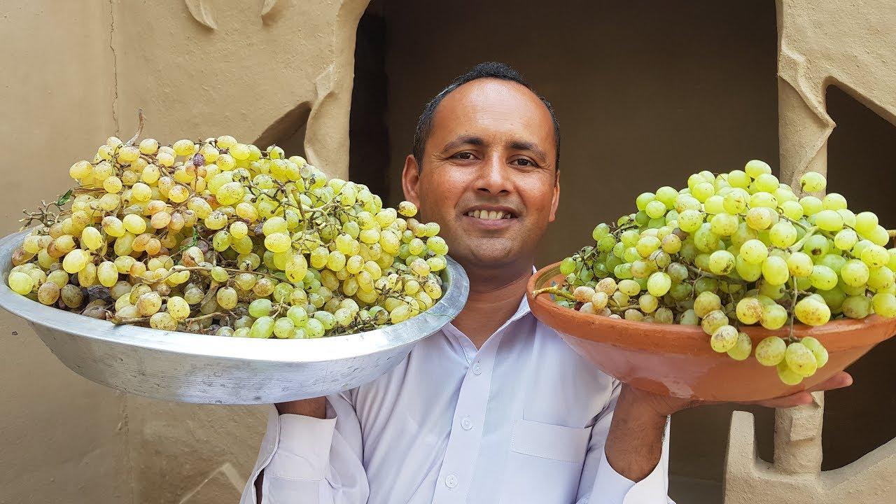 Grapes Chaat Recipe | Fruit Chaat | Chaat Recipe | ASMR | Mubashir Saddique | Village Food secrets