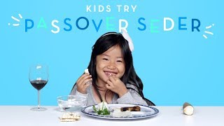 Kids Try Passover Seder | Kids Try | HiHo Kids