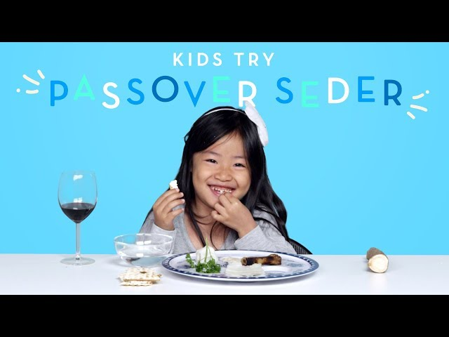 Kids Try Passover Seder   Kids Try   HiHo Kids
